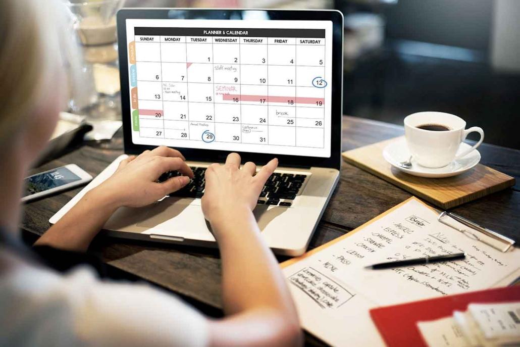 Online Terminverwaltung Cloud ERP Projektmanagement